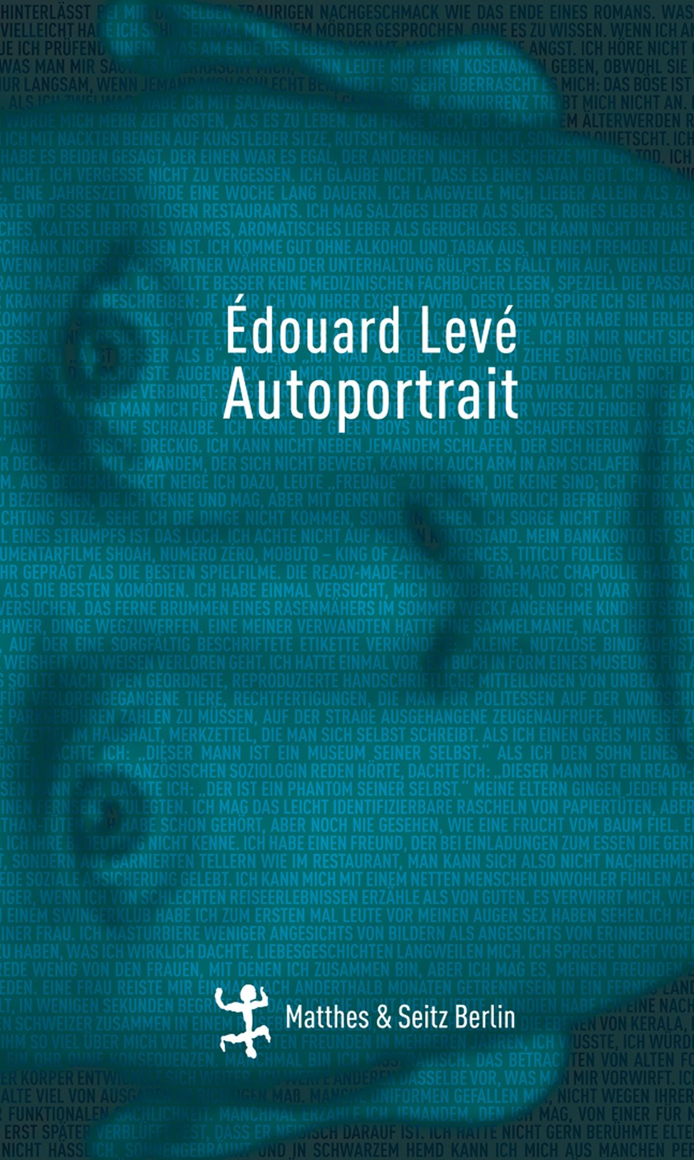 Edouard Leve Autoportrait шапка rvca dayshift beanie ii розовый 4327