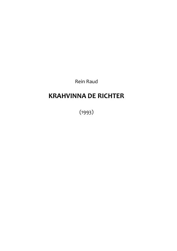 цена Rein Raud Krahvinna von Richter онлайн в 2017 году