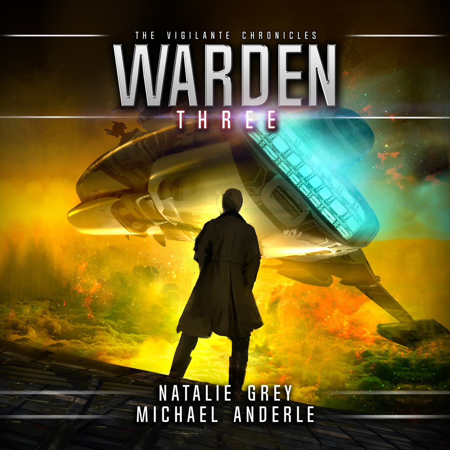 Michael Anderle Warden - The Vigilante Chronicles, Book 3 (Unabridged) цена 2017