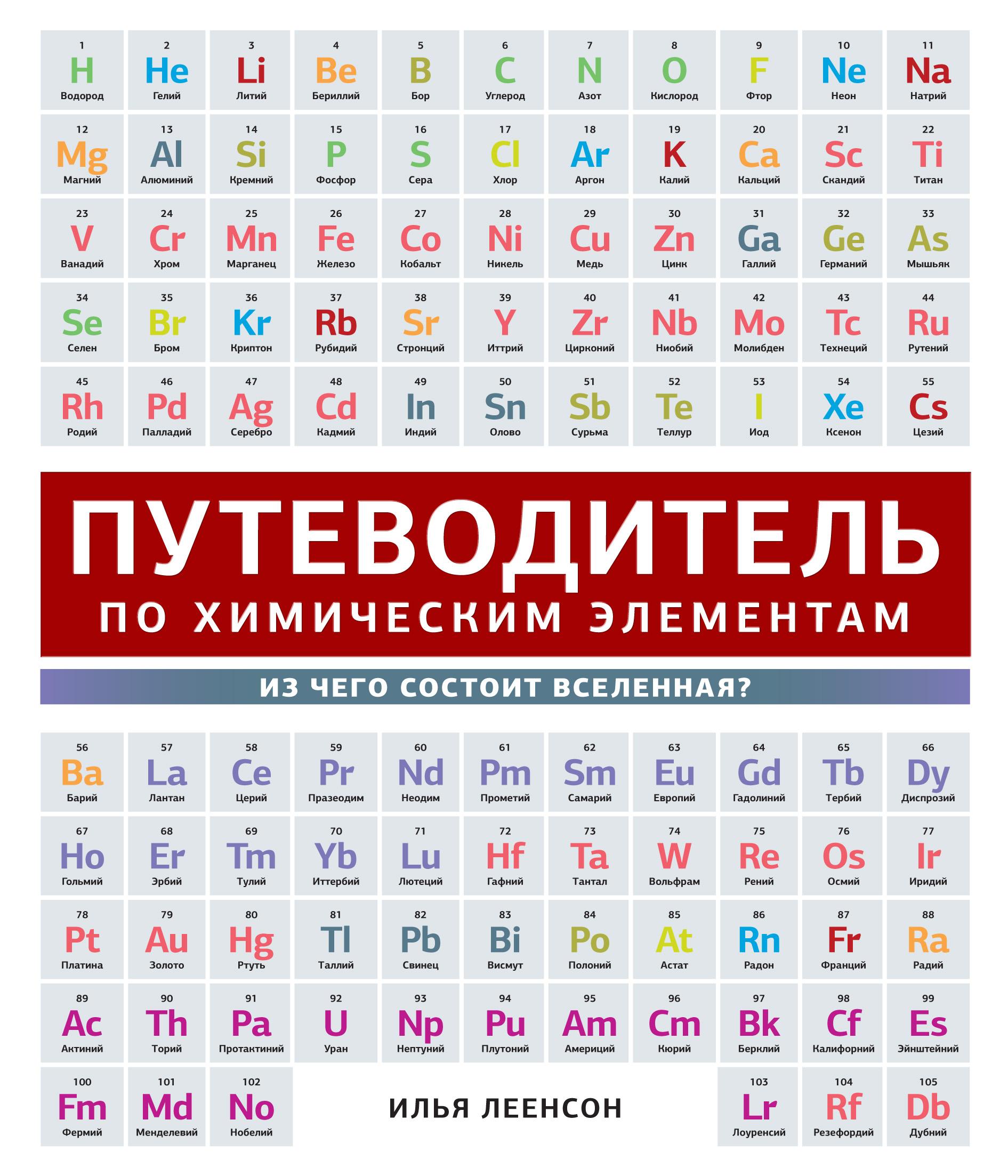 И. А. Леенсон Путеводитель по химическим элементам. Из чего состоит Вселенная? илья леенсон химические элементы путеводитель по периодической системе
