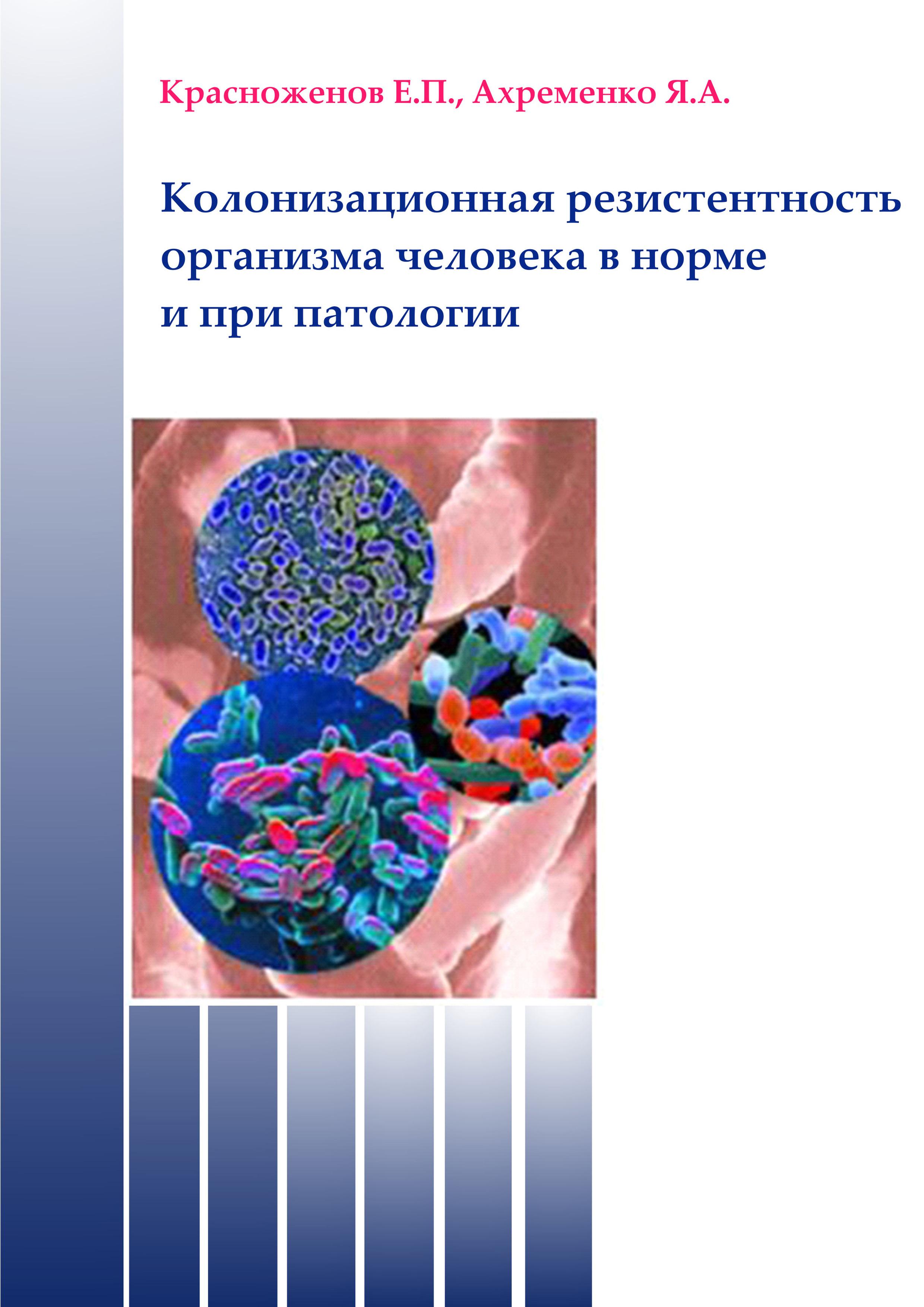 Колонизационная резистентность организма человека в норме и при патологии