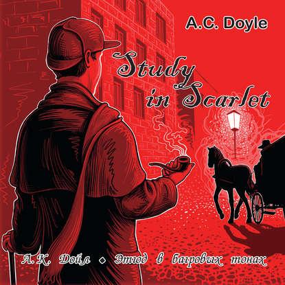 Артур Конан Дойл Study in Scarlet /Этюд в багровых тонах конан дойл а этюд в багровых тонах a study in scarlet cd 3 й уровень