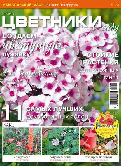 Группа авторов Цветники в саду №11/2017 эксмо цветники 85 лучших композиций