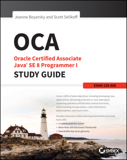 Фото - Jeanne Boyarsky OCA: Oracle Certified Associate Java SE 8 Programmer I Study Guide. Exam 1Z0-808 david higby clinton aws certified solutions architect study guide