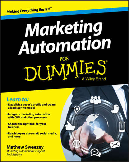 Mathew Sweezey Marketing Automation For Dummies entrepreneurial marketing