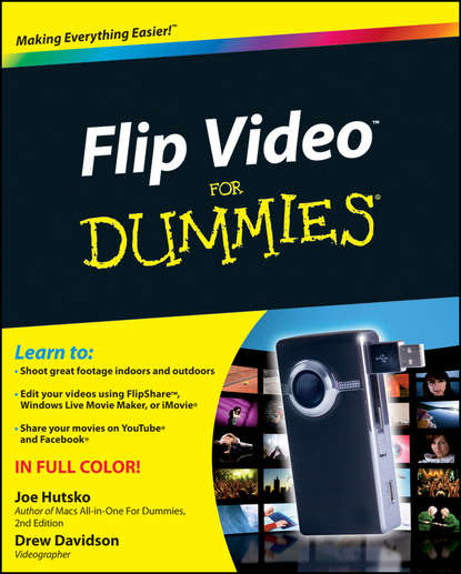 Фото - Joe Hutsko Flip Video For Dummies weifeng wf 717 professional video camera