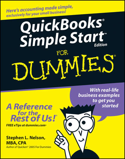Stephen L. Nelson QuickBooks Simple Start For Dummies