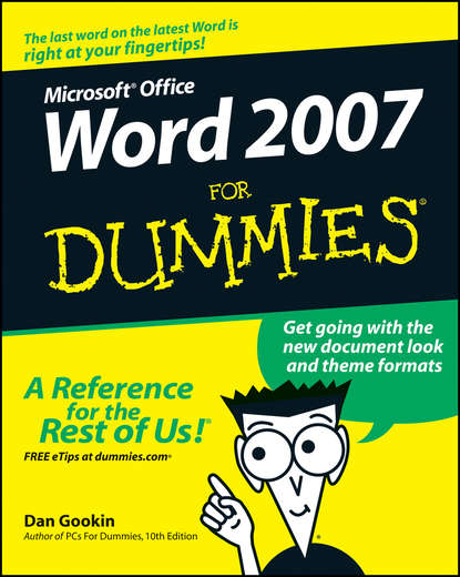Dan Gookin Word 2007 For Dummies dan gookin word 2007 for dummies