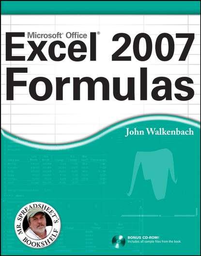 John Walkenbach Excel 2007 Formulas john walkenbach excel 2010 formulas