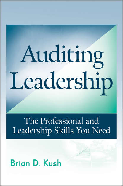 Brian Kush D. Auditing Leadership. The Professional and Leadership Skills You Need chris widener leadership rules how to become the leader you want to be