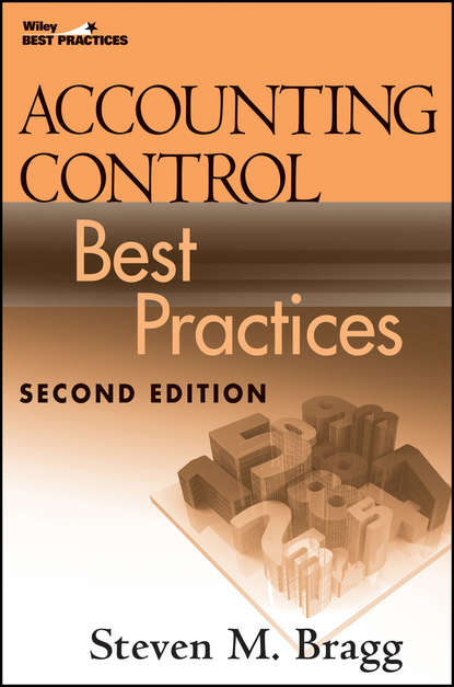 Steven Bragg M. Accounting Control Best Practices roehl anderson janice m it best practices for financial managers