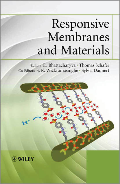 Группа авторов Responsive Membranes and Materials d bhattacharyya responsive membranes and materials