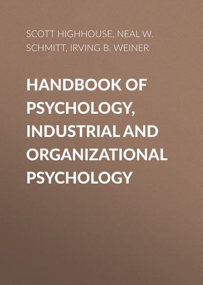 Irving B. Weiner Handbook of Psychology, Industrial and Organizational Psychology clinical sport psychology perspective west and east volume i