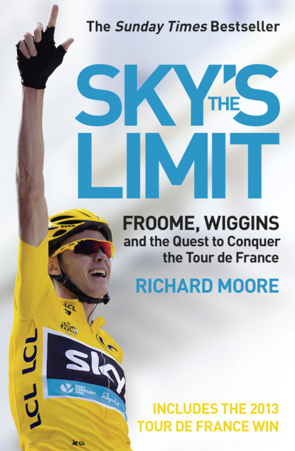 Richard Moore Sky's the Limit: Wiggins and Cavendish: The Quest to Conquer the Tour de France france luxe oblong on long and skinny barrette itsy daisy