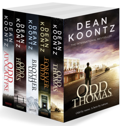 Dean Koontz Odd Thomas Series Books 1-5 dean koontz odd thomas series books 1 5