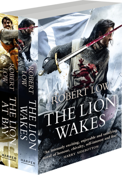 Robert Low The Kingdom Series Books 1 and 2: The Lion Wakes, The Lion At Bay robert low the lion at bay