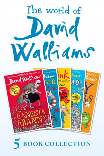 David Walliams The World of David Walliams 5 Book Collection недорого