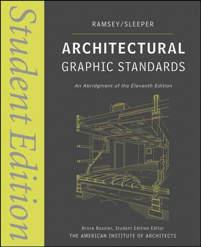 Charles Ramsey George Architectural Graphic Standards architectural drawings