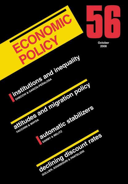 Giuseppe Bertola Economic Policy 56 david greenaway the world economy global trade policy 2012 isbn 9781118513019