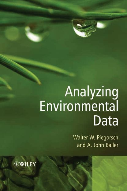 Walter Piegorsch W. Analyzing Environmental Data environmental geology