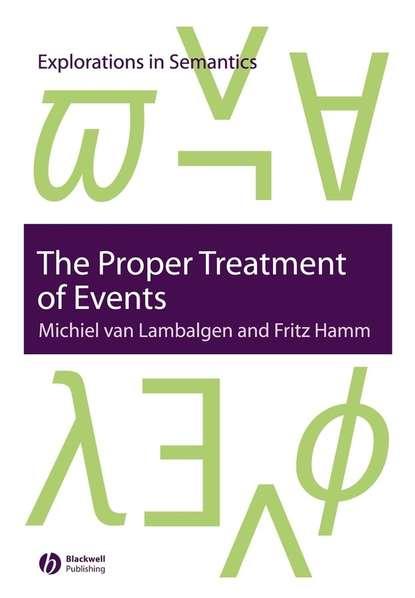 Fritz Hamm The Proper Treatment of Events comparison of cognitive and language abilities of preschool children