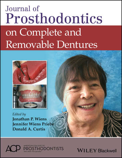 Donald Curtis A. Journal of Prosthodontics on Complete and Removable Dentures donald curtis a journal of prosthodontics on complete and removable dentures