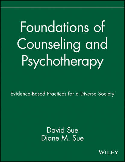 David Sue Foundations of Counseling and Psychotherapy rick johnson spirituality in counseling and psychotherapy an integrative approach that empowers clients isbn 9781118225769