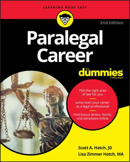 Scott A. Hatch Paralegal Career For Dummies bill hughes getting a networking job for dummies