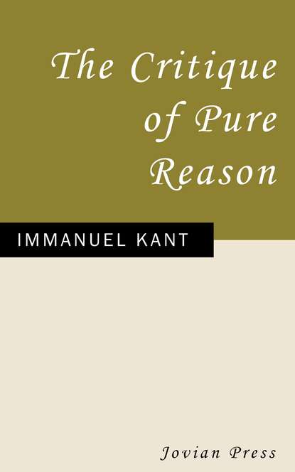 Immanuel Kant The Critique of Pure Reason immanuel kant the science of right