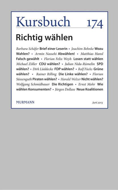 Группа авторов Kursbuch 174