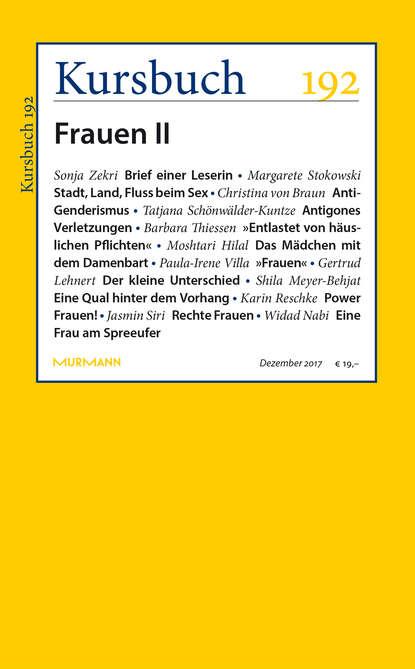 Группа авторов Kursbuch 192
