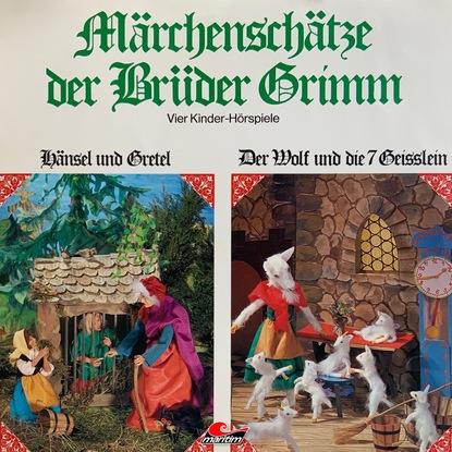 Gebrüder Grimm Märchenschätze der Brüder Grimm, Folge 1: Hänsel und Gretel, Der Wolf und die sieben Geißlein, Rotkäppchen, Rumpelstilzchen недорого