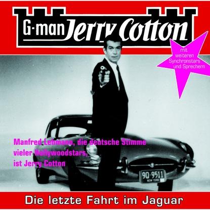 Jerry Cotton Jerry Cotton, Folge 5: Die letzte Fahrt im Jaguar jerry cotton jerry cotton folge 5 die letzte fahrt im jaguar