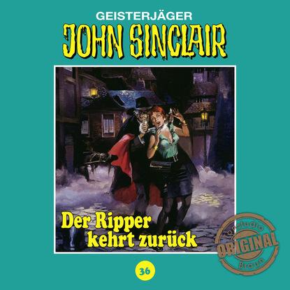 Jason Dark John Sinclair, Tonstudio Braun, Folge 36: Der Ripper kehrt zurück. Teil 1 von 2 jason dark john sinclair tonstudio braun folge 2 der schwarze henker