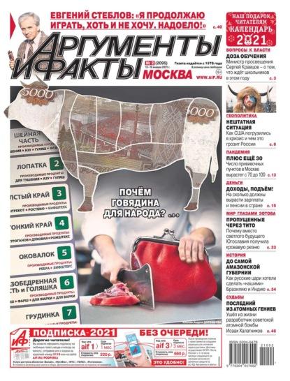 Аргументы и Факты Москва 02-2021