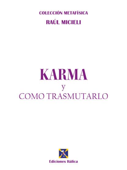 Raúl Micieli Karma y cómo transmutarlo недорого