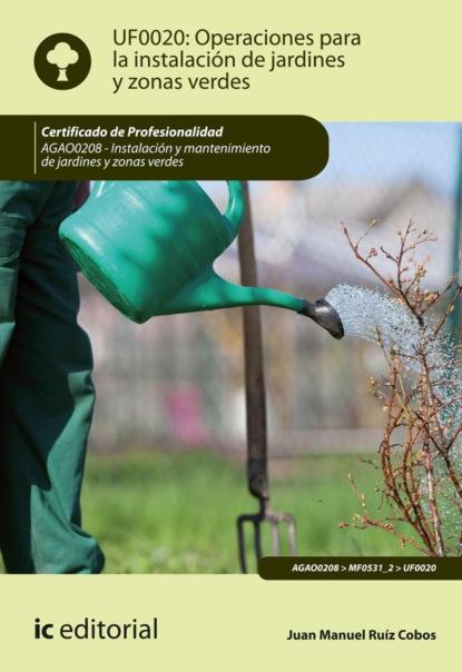 Juan Manuel Ruiz Cobos Operaciones para la instalación de jardines y zonas verdes. AGAO0208 juan manuel molina mengíbar electricidad electromagnetismo y electrónica aplicados al automóvil tmvg0209