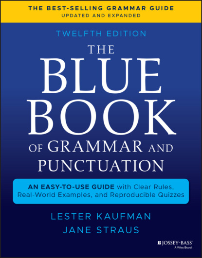 Jane Straus The Blue Book of Grammar and Punctuation grammar and punctuation activity cards