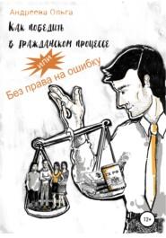 Как победить в гражданском процессе, или Без права на ошибку
