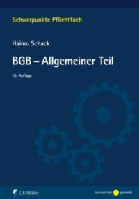 BGB-Allgemeiner Teil