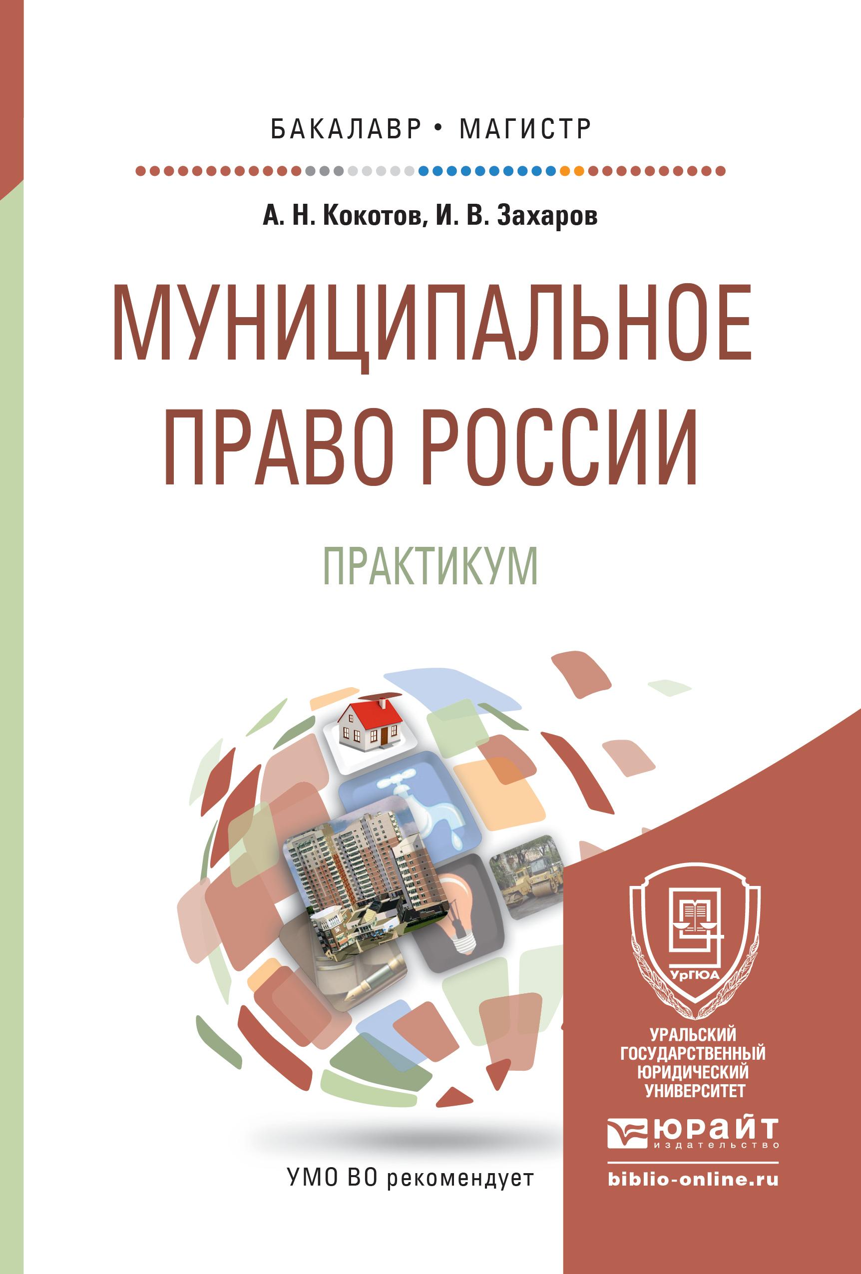 Муниципальное право России. Практикум. Учебное пособие для бакалавриата и магистратуры
