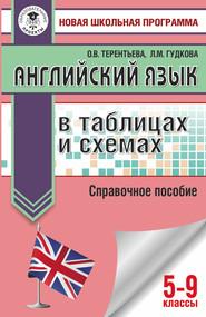 ОГЭ. Английский язык в таблицах и схемах. Справочное пособие. 5-9 классы