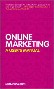 Online Marketing. A User\'s Manual
