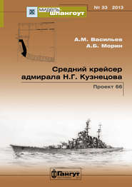 «Мидель-Шпангоут» № 33 2013 г. Средний крейсер адмирала Н.Г. Кузнецова. Проект 66