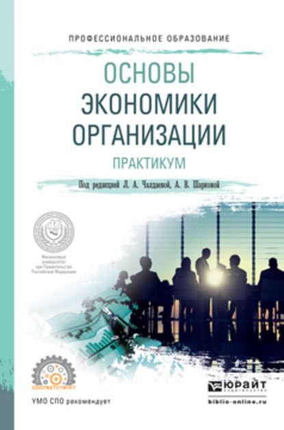 Обложка «Основы экономики организации. Практикум. Учебное пособие для СПО»