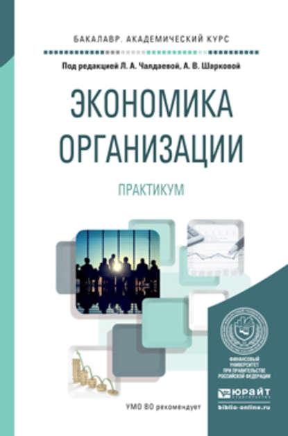 Обложка «Экономика организации. Практикум. Учебное пособие для академического бакалавриата»