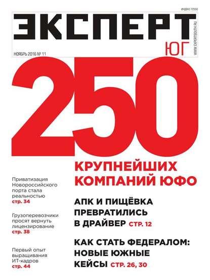 Обложка «Эксперт Юг 11-2016»