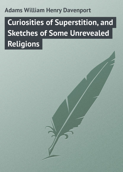 Обложка «Curiosities of Superstition, and Sketches of Some Unrevealed Religions»