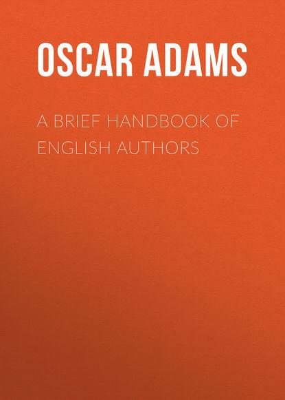 Обложка «A Brief Handbook of English Authors»