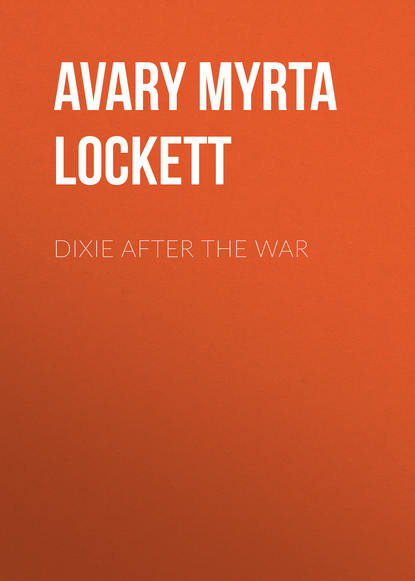 Обложка «Dixie After the War»